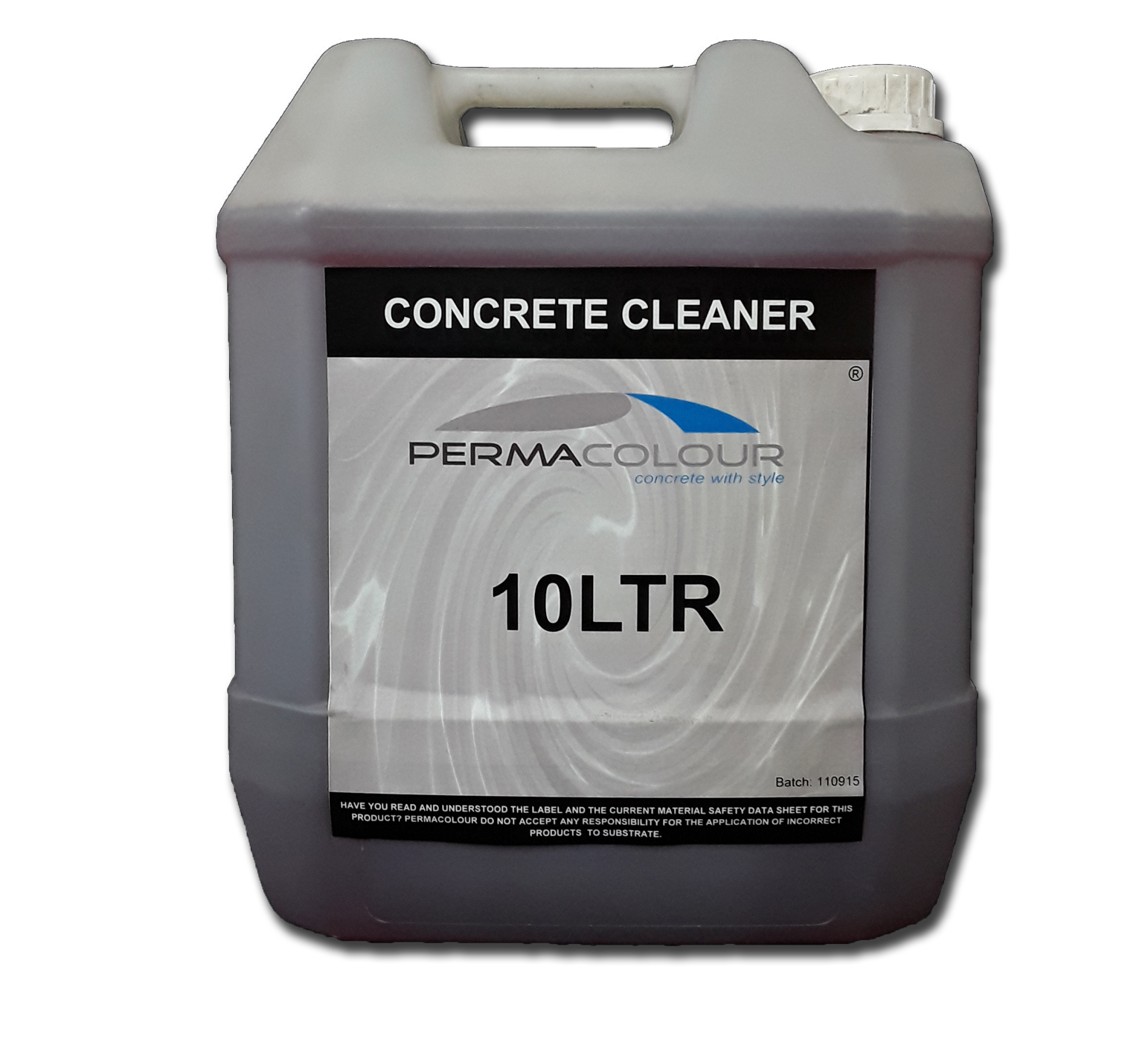 Concrete cleaner 20lt permacolour for Cement cleaning products